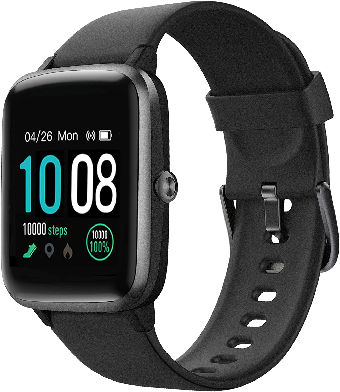 GRDE Reloj Inteligente Deportivos, Smartwatch Hombre Mujer Bluetooth IP68 Impermeable Pulsera Actividad con Pulsómetro Cardíaco y Sueño, Reloj Fitness con Cronómetro y Despertador para Huawei Xiaomi