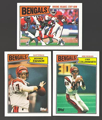1987 Topps Football Team Set Cincinnati Bengals at Amazon's Sports