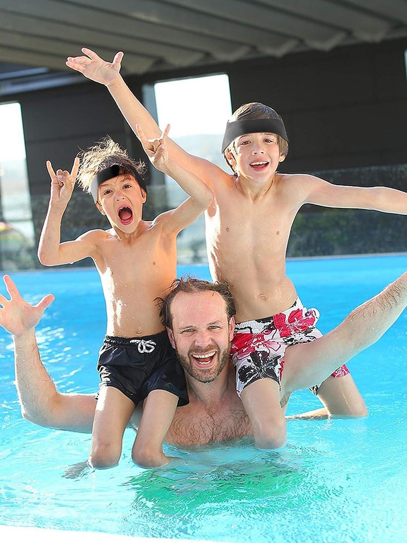 Geyoga Swimming Headband Detachable Ear Headband for Adults