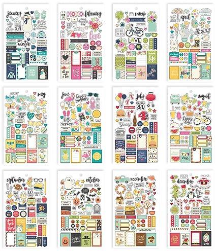 Carpe Diem Planner Essentials Seasons Mini Sticker Tablet