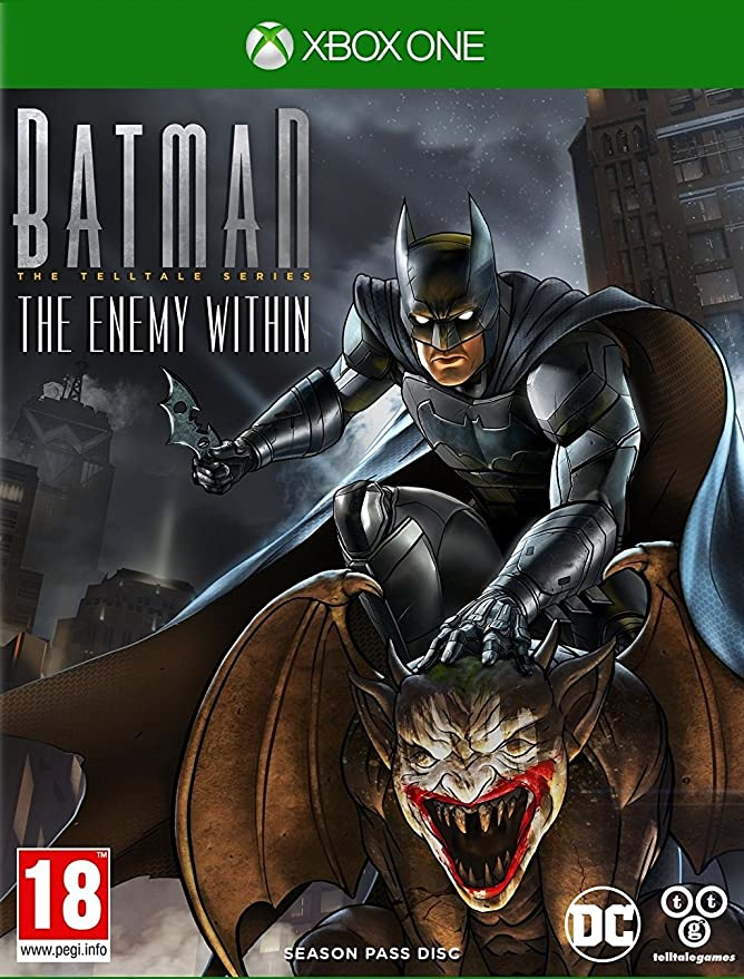 Xbox One Batman: The Enemy Within - The Telltale Series Season ...