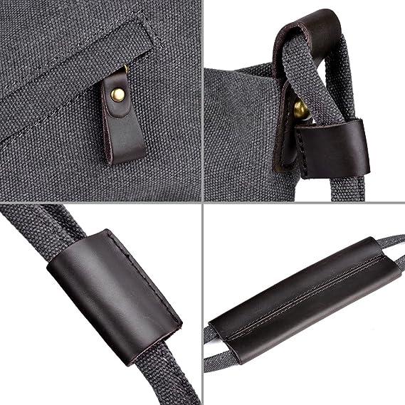 78f706eb19e3 Amazon.com  COOFIT Canvas Bag for Women Crossbody Bag Messenger Bag  Shoulder Bag Hobo Bag Unisex  Clothing