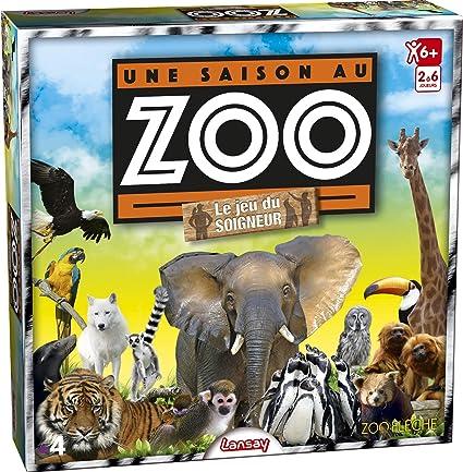 Lansay 75029 Une Saison Au Zoo Le Jeu Du Soigneur Amazon Fr