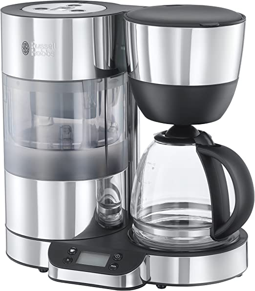 Russell Hobbs Cafetera de Goteo Clarity 20770-56, Negro, Acero ...