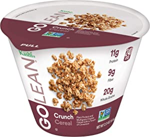 Kashi GO Crunch Breakfast Cereal - Non-GMO Project Verified Project Verified, Vegetarian, Single Serve Cups - 2.3 Oz (Pack of 12)