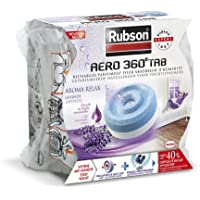 RUBSON - Recharge parfumée pour absorbeur d'humidité AERO 360° - Aroma Relax Lavande - 1 recharge