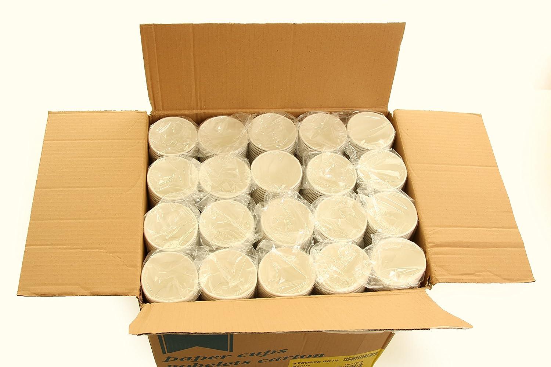 1000 x 8oz HOT Getränke Papier Partybecher (Benders): Amazon.de ...