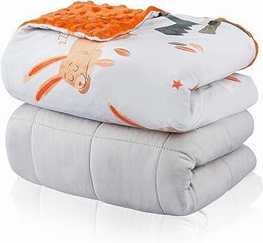 Amazon.com: FORTIVO - Manta pesada para niños de 30.9 lbs de ...