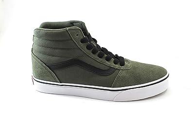 Vans Herren Ward Hi Suede/Canvas Hohe Sneaker