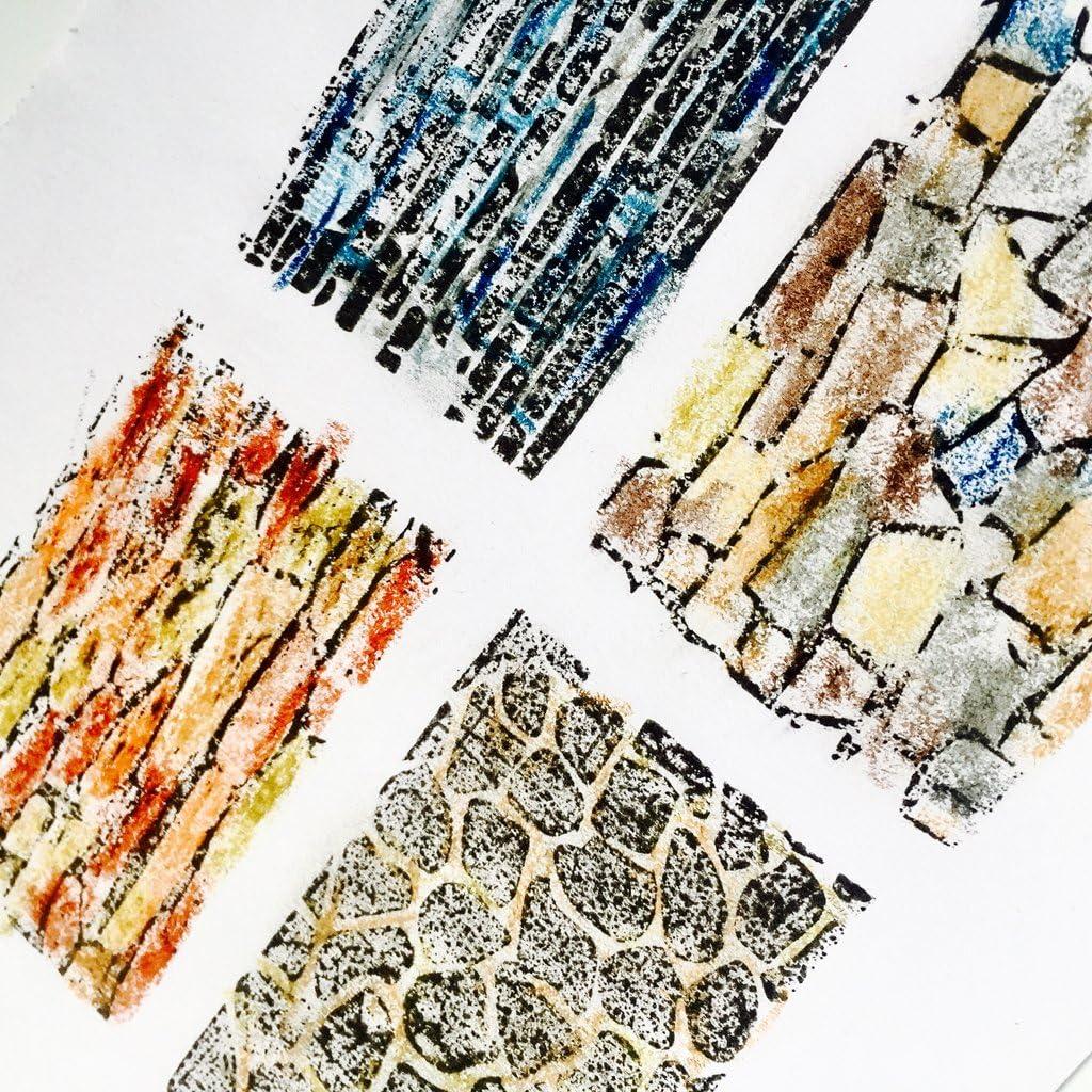 ZOUD Mur DIY Silicone Clair Timbre Cling Seal Scrapbook Gaufrage Album D/écor Artisanat