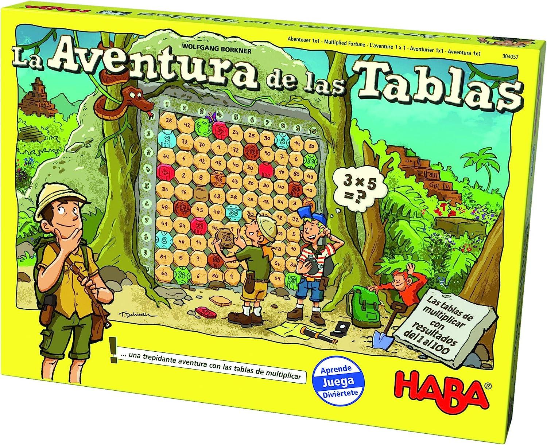 HABA - La Aventura De Las Tablas - ESP (304057): Amazon.es: Juguetes y juegos