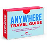 Anywhere Travel Guide: 75 Cards for Discovering the Unexpected, Wherever Your Journey Leads (Travel Games for Adults, Explora