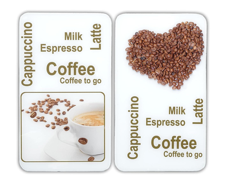 Wenko 2521435500 Protège-Plaque Universel le Plaisir du Café