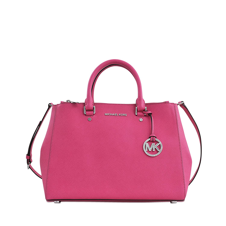 ... 50% off michael kors sutton large satchel saffiano leather rhodium  color raspberry handbags amazon miketsumusemkselma01 e77a7c9976