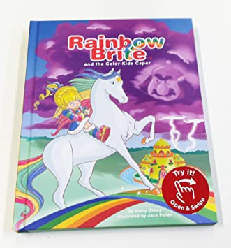 RAINBOW BRITE COLOR KIDS CAPER FINGER SWIPE