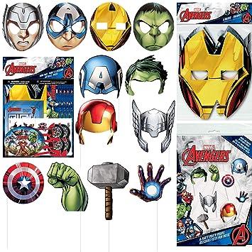 Amazon.com: Unique Marvels Avengers Movie Party Favor ...