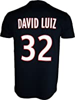 T-shirt PSG - David LUIZ - N°32 - Collection officielle PARIS SAINT GERMAIN - Taille adulte homme