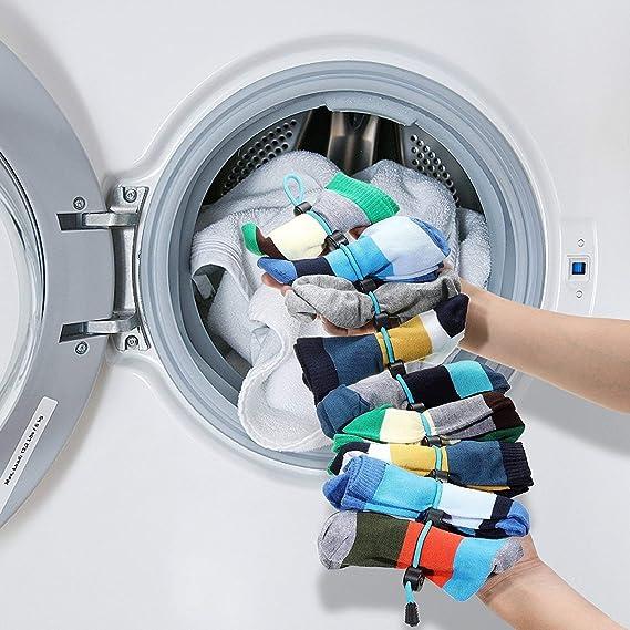 WSGQLT Organizador de calcetines para sujetar y colocar calcetines ...