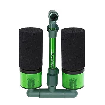 Powkoo - Filtro de Esponja de Aire para Acuario o pecera de hasta 40 galones: Amazon.es: Hogar