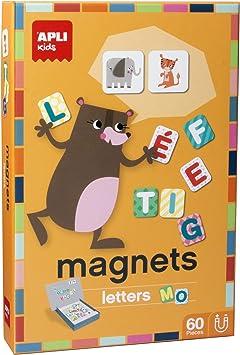 Oferta amazon: APLI Kids- Letras Juego magnético, Multicolor (16816)