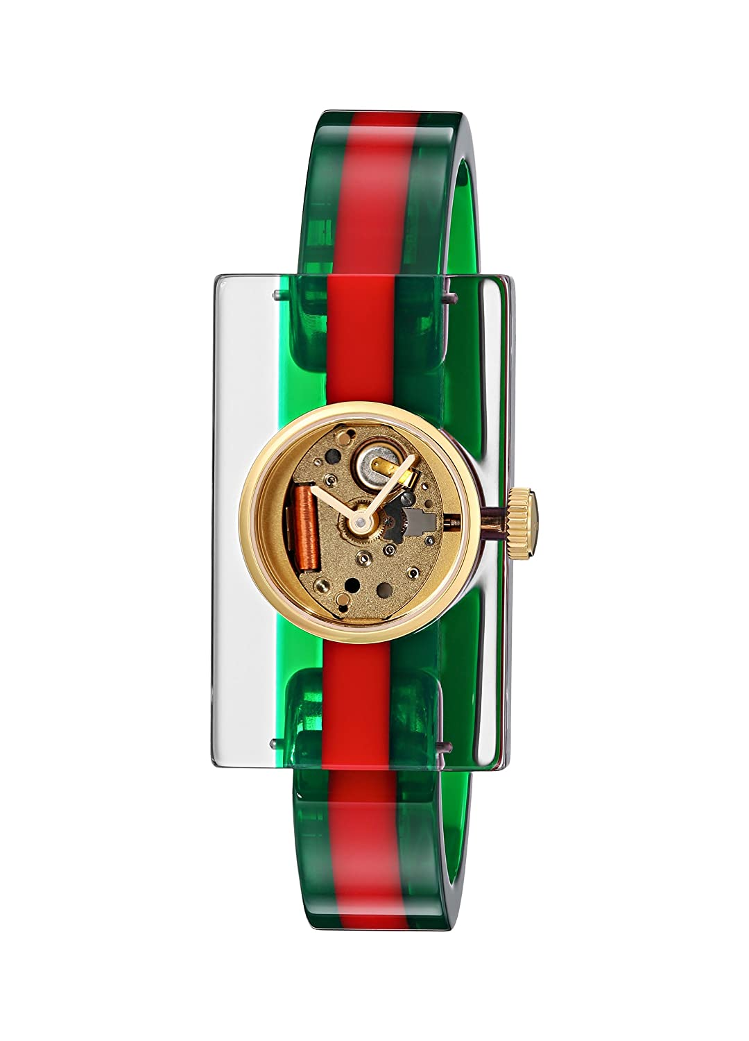 GUCCI PLEXI WATCH FASHION SHOW COLLECTION YA143501