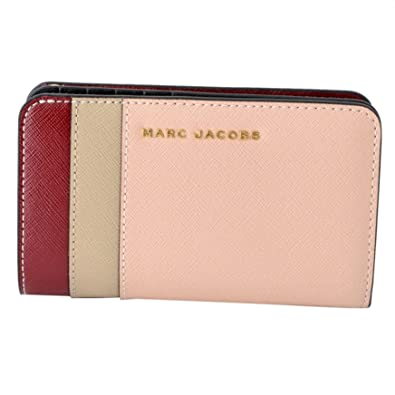 29e80b55c452 [マークジェイコブス] MARC JACOBS M0013706-697 Rose Multi サフィアノ メタル レター カラーブロック