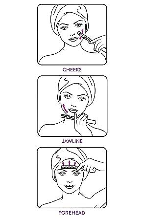 amazon nurse jamie uplift massaging beauty roller luxury beauty Sculpting Facial Chin