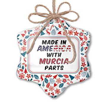 Amazon.com: NEONBLOND Christmas Ornament Made in America ...
