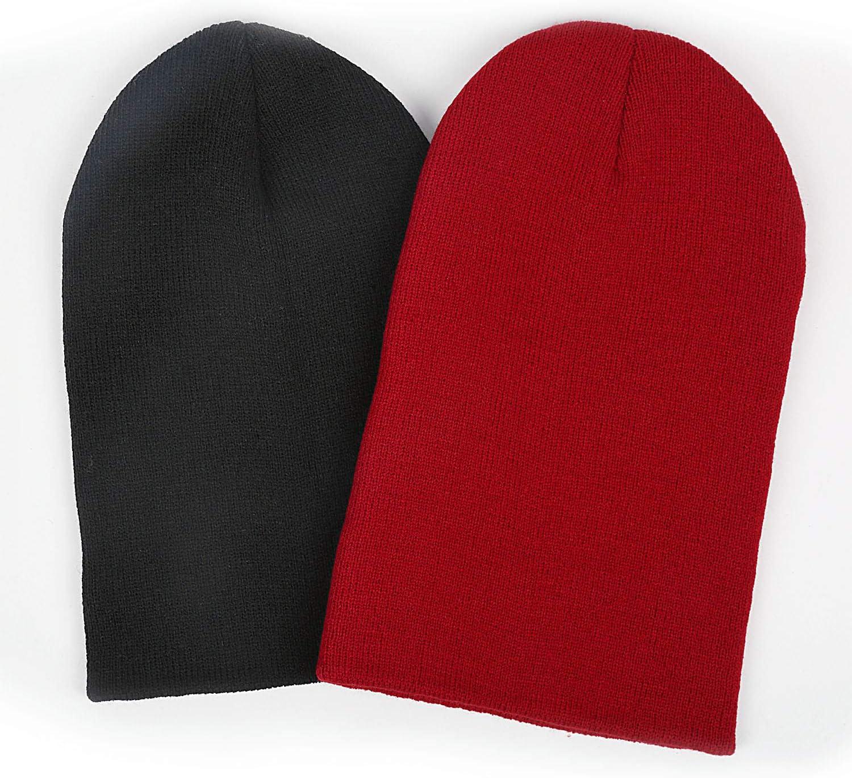 Marinas Yellow pop Gurley Fine Knit Men//Women Winter Warm Beanie Hats Stretchy/&Soft