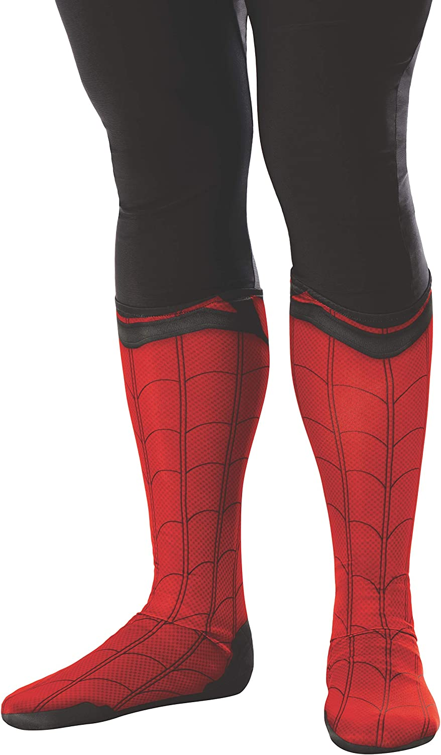 Rubie's Men's Marvel: Spider-Man Far from Home Fabric Boot-Tops Adult Costume