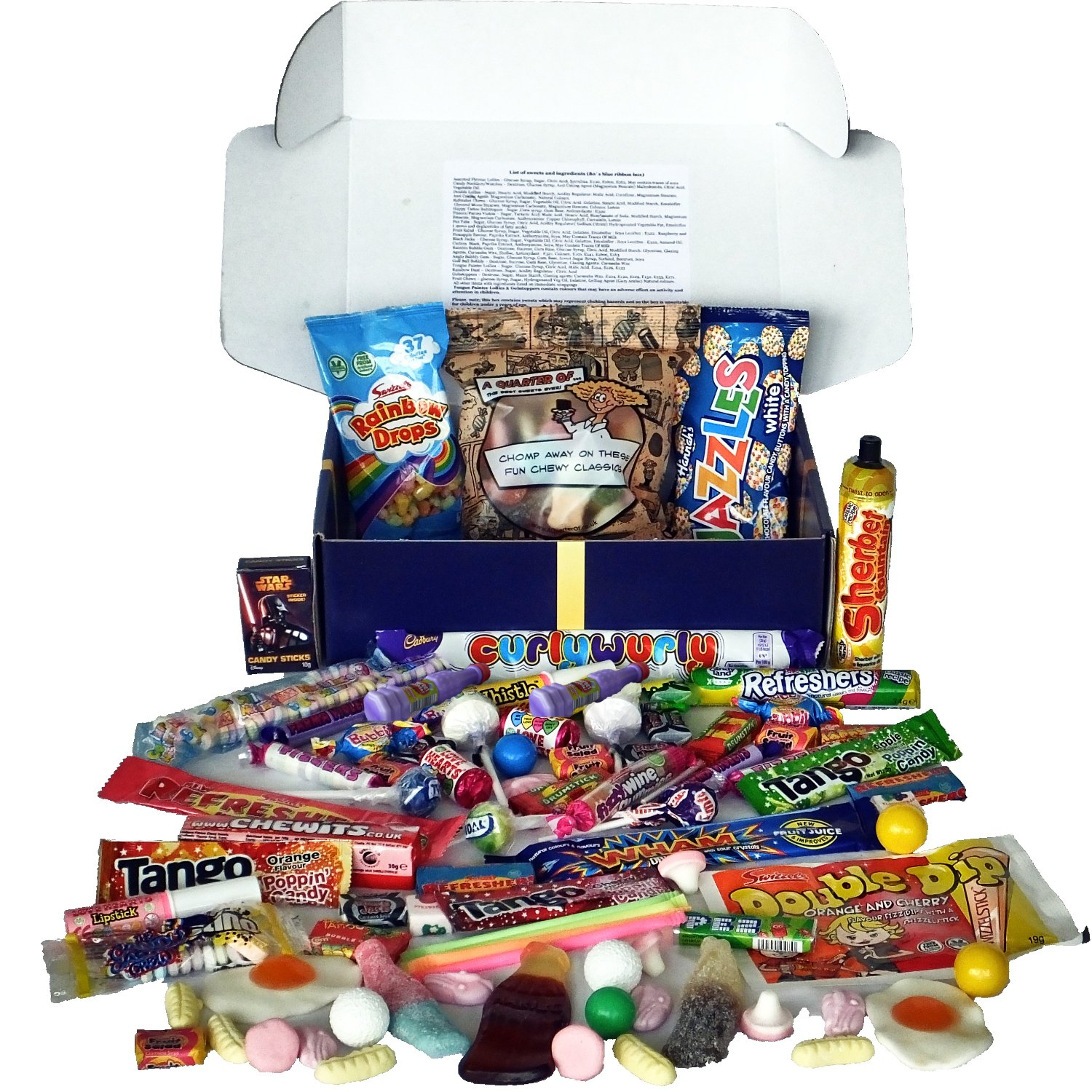 Hampers and gourmet gifts amazon a quarter of tasty eighties gift box of iconic 80s sweets negle Images