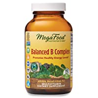 MegaFood, Balanced B Complex, Promotes Healthy Energy Levels, Multivitamin Dietary...