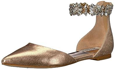 78046be470ec Amazon.com  Badgley Mischka Women s Morgen II Mary Jane Flat  Shoes