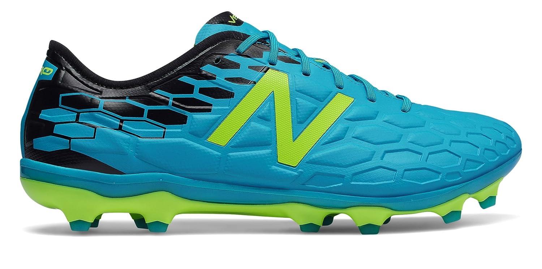 (ニューバランス) New Balance 靴シューズ メンズサッカー Visaro 2.0 Pro FG Maldives Blue with Hi-Lite and Black ブルー ハイライト ブラック US 13.5 (31.5cm) B07B9Y3KHL