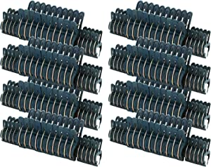 Fasmov 160 Piece Efficient Gardening Plant & Flower Spring Clips - for Supporting or Straightening Plant Stems, Stalks, and Vines