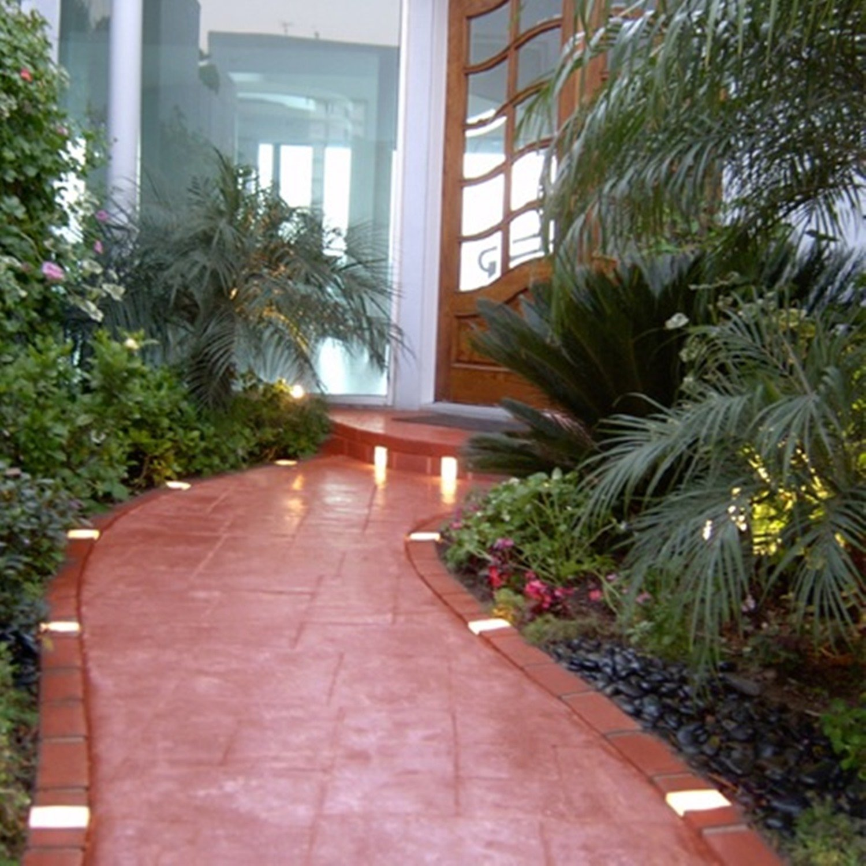 Merveilleux Amazon.com : Letu0027s Edge It! Decorative Plastic Brick Edging With 4 Built In  Solar Lights, Terra Cotta, 20 Foot Kit   Argee RG820S : Garden Border Edging  ...