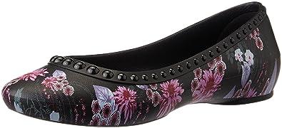 eca22ba77bd7ba crocs Damen Linaluxeflat Geschlossene Ballerinas  Amazon.de  Schuhe ...