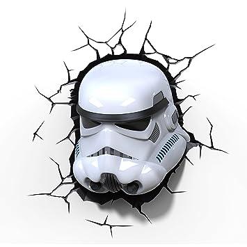 Amazon.com: 3D Light FX Star Wars Storm Trooper 3D Deco LED Wall ...:3D Light FX Star Wars Storm Trooper 3D Deco LED Wall Light,Lighting