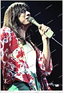 """Steve Perry of Journey, 1980 Photo - 19""""x13"""" Numbered, Limited Edition Original SEGAMI Photography"""