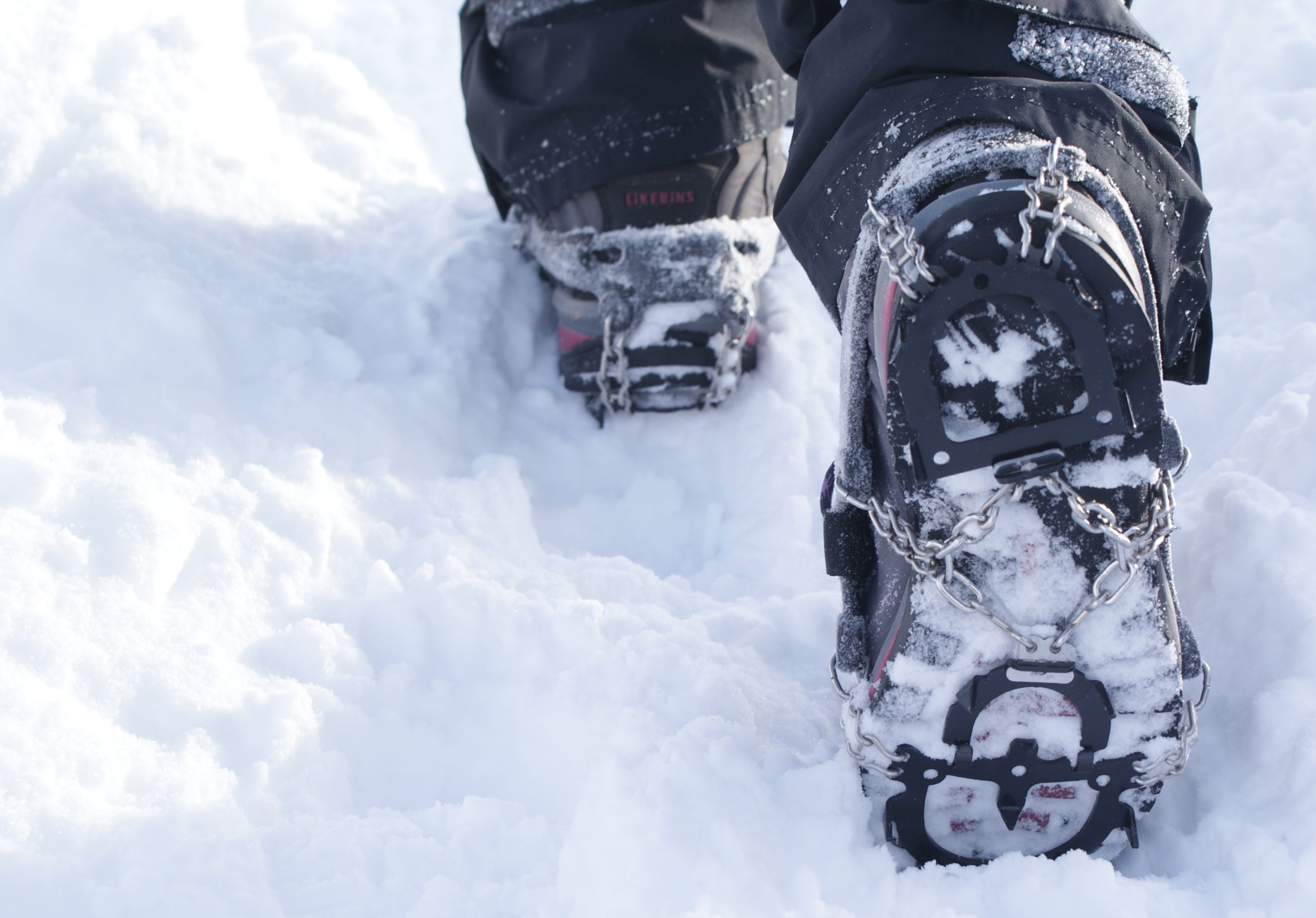 Hillsound Trail Crampon Traction Device, Black, Extra Small