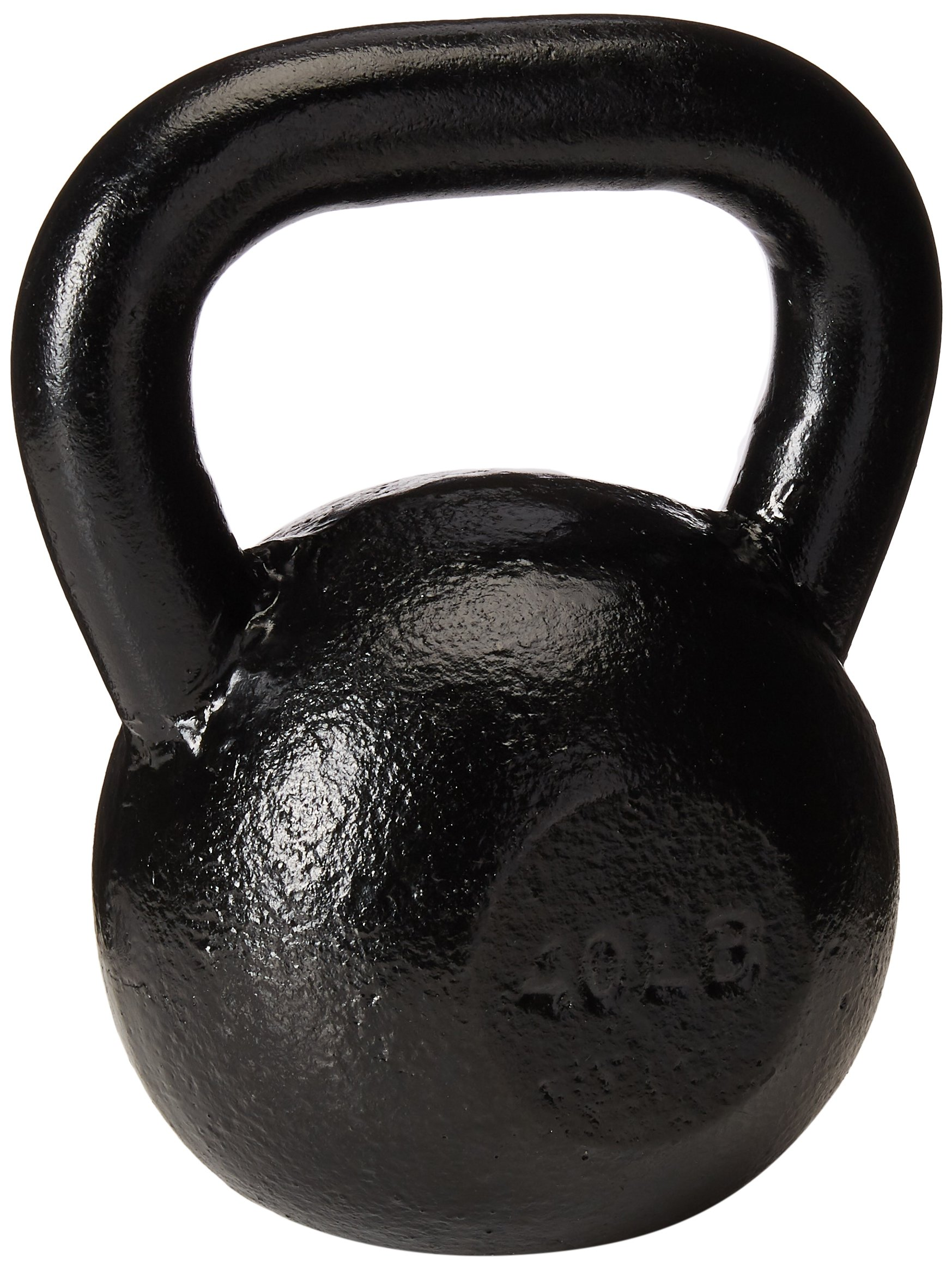 Sunny Black Kettle Bell (40-Pound)