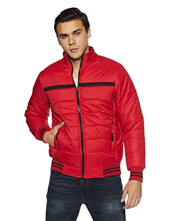9db7ce945f1 Qube By Fort Collins Men's Nylon Jacket: Amazon.in: Clothing ...