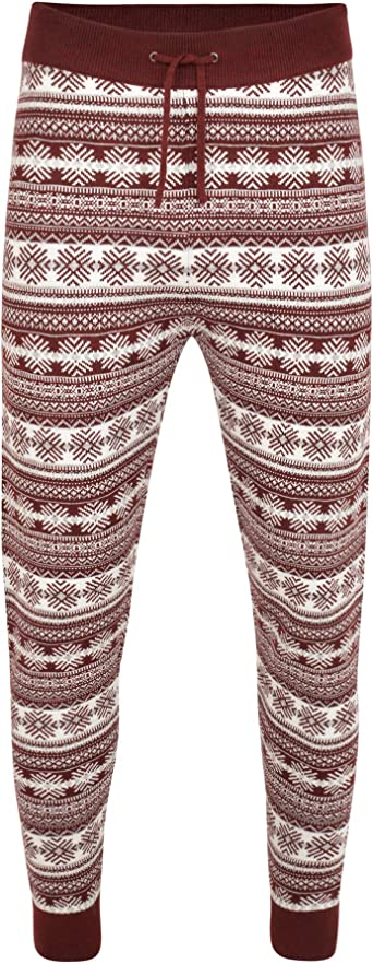 Noroze Men S Christmas Pyjamas Jogger Bottoms Xmas Jumper Trousers Men Gifts Amazon Co Uk Clothing