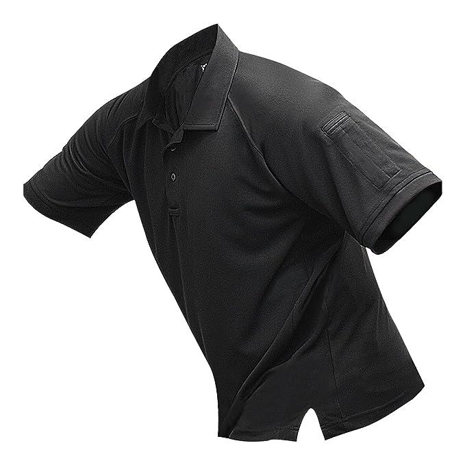 Vertx Men's Coldblack Short Sleeve Polo Shirt
