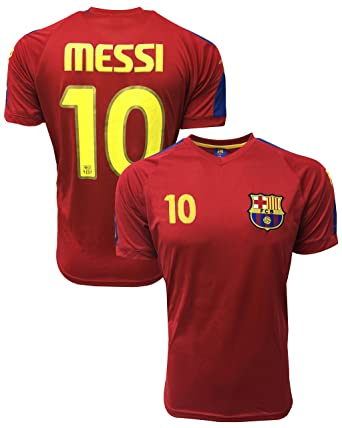 Rhinox Lionel Messi Jersey  10 - Barcelona Official Product Jersey With The  Signature 0a7d23eb0