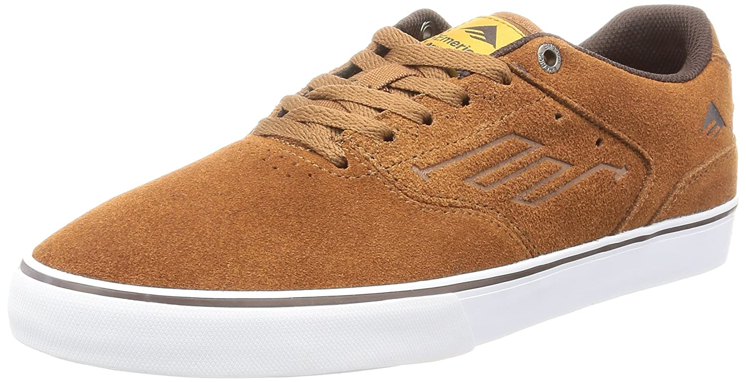 Emerica Herren The Reynolds Low Vulc Gum Skateboardschuhe, weiß