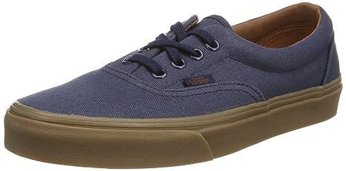 89d46dcf26 Vans ERA (Gumsole) Blue Nights   Medium Gum Skateboard Shoes-Men 7.0 ...