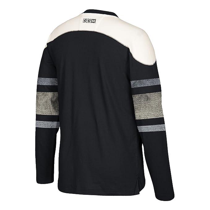 Amazon.com   adidas NHL Mens CCM L S Applique Crew   Sports   Outdoors 2f25f4bd8
