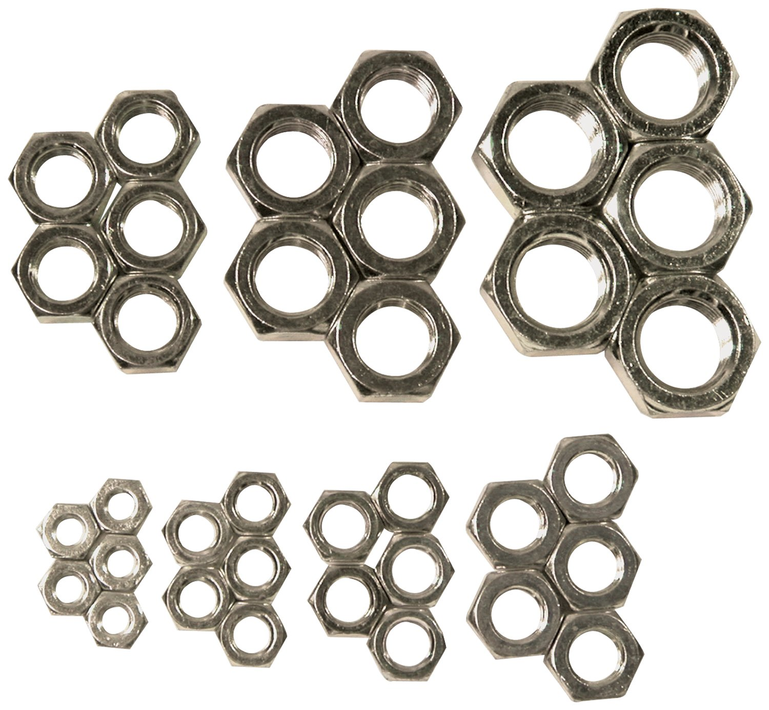 Allstar Performance ALL18291 Left Hand Steel Jam Nut Assortment