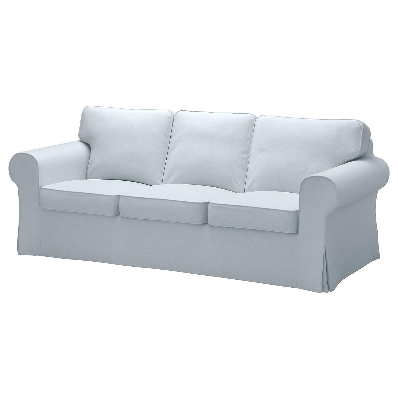 Amazon Com Ikea Cover For Ektorp Sofa Nordvalla Light Blue Home